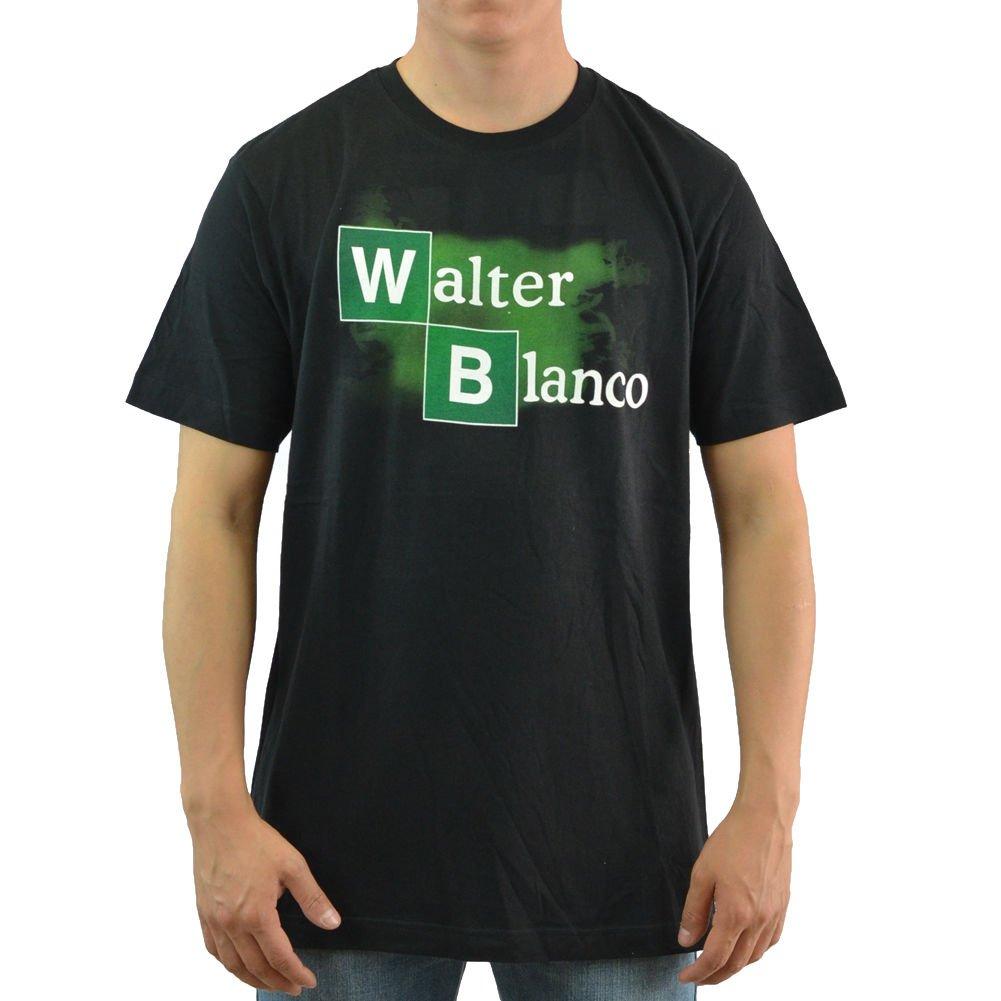 breaking bad walter blanco mens black tshirt new sizes s2xl