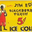 JIM ED'S BLACKBERRY PUNCH VINTAGE AD ART MAGNET