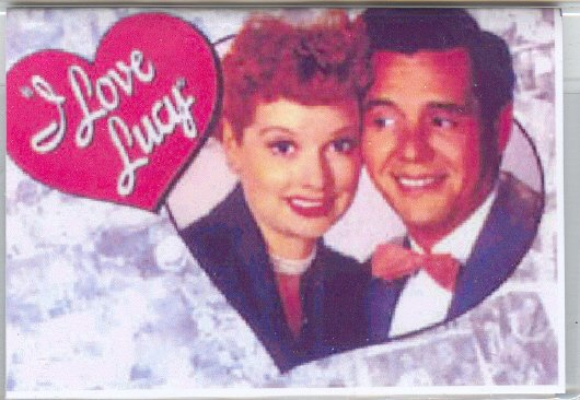 I LOVE LUCY CREDIT CARD CASE...LUCY AND DESI