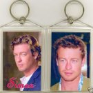 SIMON BAKER JUMBO KEYCHAIN  STAR OF THE MENTALIST