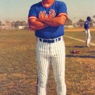 NEW YORK METS 25TH ANNIVERSARY POSTCARD DAVEY JOHNSON
