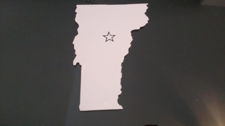 Vermont Montpelier Vinyl Car Window Bumper Sticker Decal State United States America USA Laptop