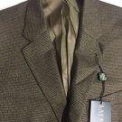 Lauren Ralph Lauren - Blazer Houndstooth Classic-fit Light Brown 42S NWT $295
