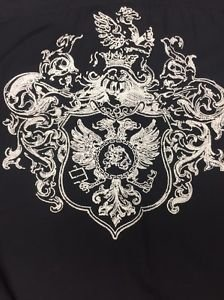 CEZER -Mens Designer Shirt  Black XL - Long Sleeve
