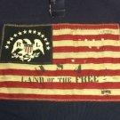 Polo Ralph Lauren - Flag Mesh Shirt BLUE US-RL 5TH REG. Large NWT $145 MSRP