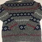 O'Hanlon Mills Anthropologie Men Multi Color  Cotton/Wool/Nylon Sweater XS NWOT
