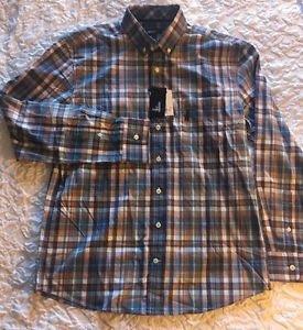 Johnnie-O (Buckley) Button-Down Shirt JMWL1200 495 Niagara Size Medium NWT $125