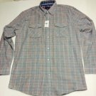 Saks 5th Ave - Button Down Dress/Casual Shirt Long Sleeve Large NWT $100 MSRP