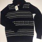 Ben Sherman Fair Isle Sweater Small NWT $139 Retail