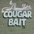 Graphic Tee Shirt - Cougar Bait Pink Panther NWT Large