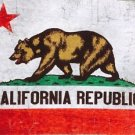 California Republic Bear Flag Graphic T shirt American Apparel XL NWT