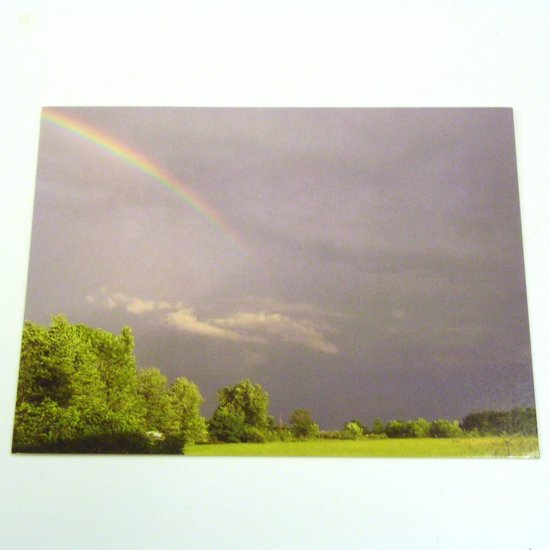 10 Postcards - Rainbow Between Storms - Blank Back