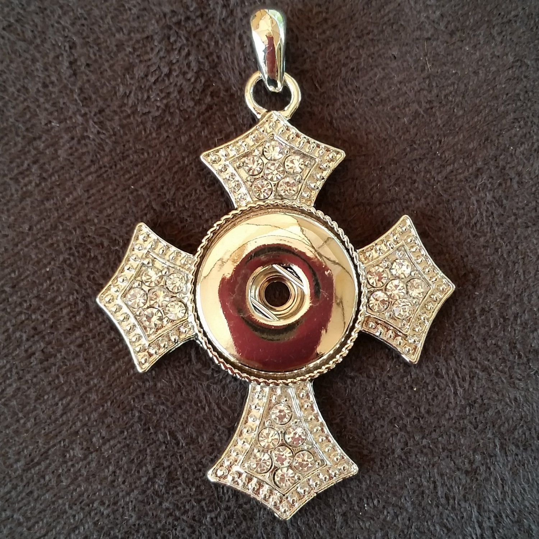 Medium Cross with Rhinestones