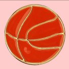 Orange Metal Basketball