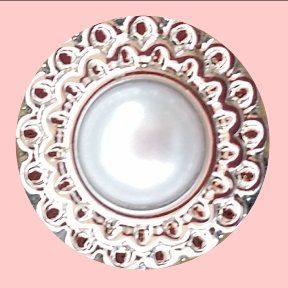 Mini Silver and Pearl