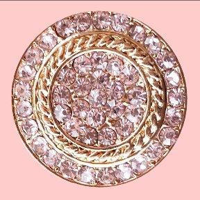 Rosegold and Pink Stones