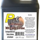 The Pee Mart - Mountain Lion Urine 64 oz Bulk Filler!