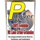The Pee Mart - Mountain Lion P-Cover 16 fl oz Mt. Lion Urine Granules!