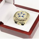 1971 Dallas Cowboys Super Bowl Ring...Roger Staubach Ring in Wooden Box