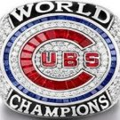 Chicago Cubs 2016 Championship Ring.Rizzo Ring...Replica Alloy In Wooden Box