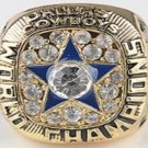 Custom Replica 1971 Dallas Cowboys Super Bowl Ring....Zinc Alloy . No Box