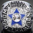 Custom Replica 1971 Dallas Cowboys Super Bowl Ring....Zinc Alloy . No Box..Silver