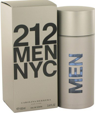 212 Cologne  By Carolina Herrera for Men. 3.4 oz
