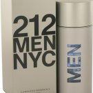 212 Cologne  By Carolina Herrera for Men. 3.4 oz