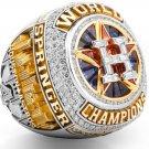 2017 Houston Astros Championship Ring... zinc alloy ..In wood box.