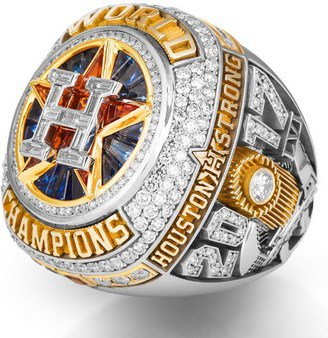 PREORDER Custom Replica 2017 Houston Astros Championship Ring... WITH YOUR OWN NAME