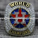 Elite Custom Replica 2017 Houston Astros Championship Ring... WITH YOUR OWN NAME.STERLING SILVER