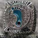 2017 UNC Tar Heels Basketball Championship Ring... solid silver. WITH YOUR NAME AND NUMBER