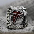 2016 Atlanta Falcons NFC Football Championship ring..Solid Copper. WITH YOUR OWN NAME AND NUMBER