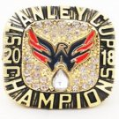2018 Washington Capitals Championship Ring .In Wood Box