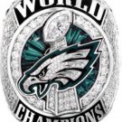 Custom 2018 Philadelphia Eagles Championship Ring. NO BOX.. Official Style. Solid Copper
