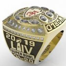 Kansas City Chiefs 2020 Championship Cppper Ring. Fan Ring..In Wood Box