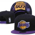Lakers Hat.  Black with purple