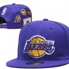 Lakers Hat.  purple with patches