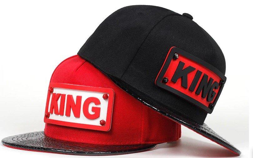 Mens KING Snapback Hats