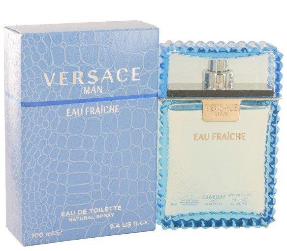 Versace Man EAU FRAICHE Cologne  By Versace for Men. 3.4 oz