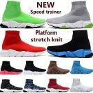 Sock Shoes Knit Sneaker Casual Running Walking Shoes High Top Sock Sneaker. Men/Women