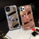IPhone Case Glitter Bling Mirror Diamond Case w/ Ring