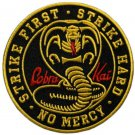 COBRA KAI Iron on / Sew on Patch Embroidered Badge. 1 piece