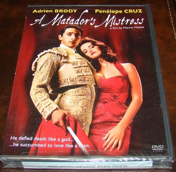 A Matador's Mistress 2011 Drama DVD Movie (New Unopened)