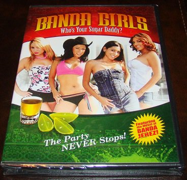 Banda Girls Who's Your Sugar Daddy ? 2008 Comedy DVD (New Unopened)