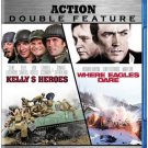 Kelly's Heroes/Where Eagles Dare Action Double Feature Blu-Ray Movies (New Unopened)