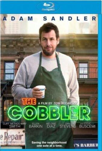 The Cobbler 2015 Drama Blu-Ray Movie Adam Sandler Stars (New Unopened)