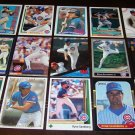 Ryne Sandberg 25 Different Baseball Cards Lot Chicago Cubs