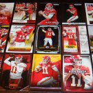 Alex Smith 25 Different Football Cards Lot Kansas City Chiefs