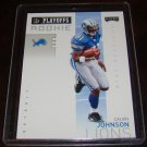 Calvin Johnson 2007 Playoff Playoffs Rookie Football Card Detroit Lions